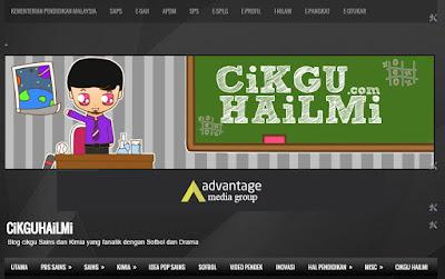 Blog pendidikan dengan 20 juta pengunjung, www.cikguhailmi.com