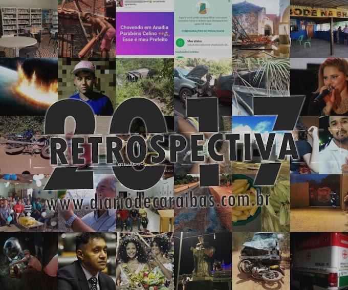 Retrospectiva 2017 | DiáriodeCaraíbas.com.br