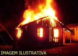 Roncador: Residência é destruída pelo fogo no Alto São João. Família precisa de ajuda!