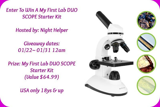 My First Lab DUO SCOPE Starter Kit Giveaway