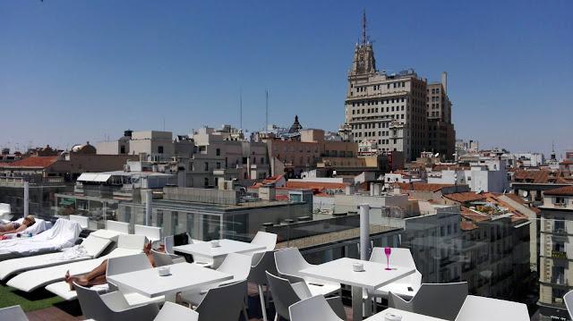 La Terraza de Óscar, Room Mate Tusolovive Madrid