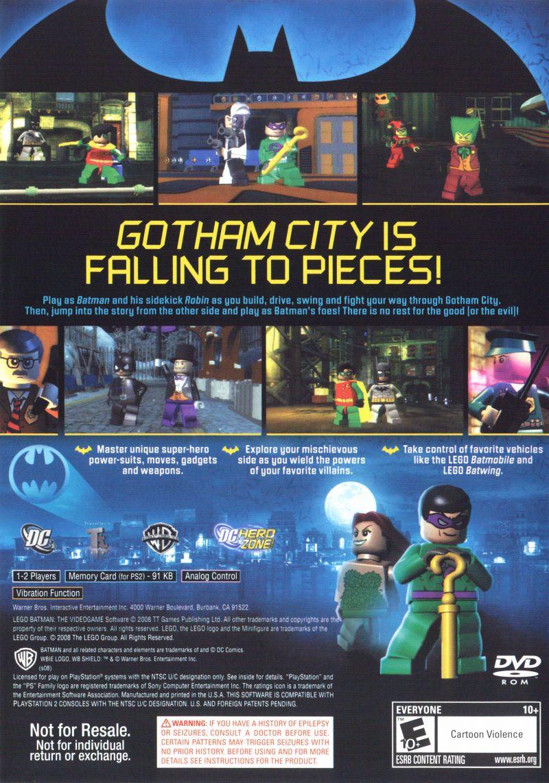 Lego Batman The Videogame Sony Playstation 2 Emudieval