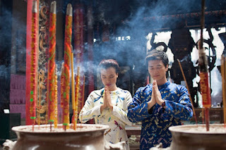 Traditional Ao Dai for Tet 2