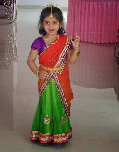 cute babies in saree babies pictures in saree