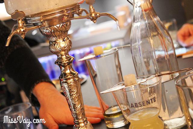 Absinthe Bistro l'Atelier alcool québec