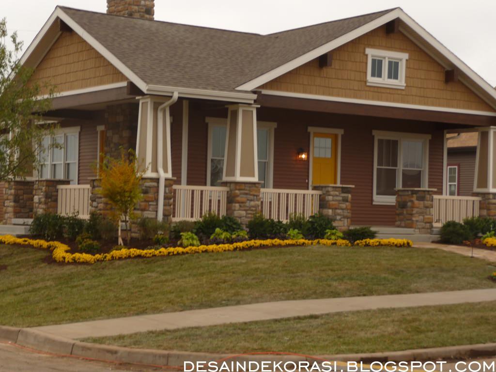 Kombinasi Warna Cat  Hijau Lumut Gambar Desain Rumah