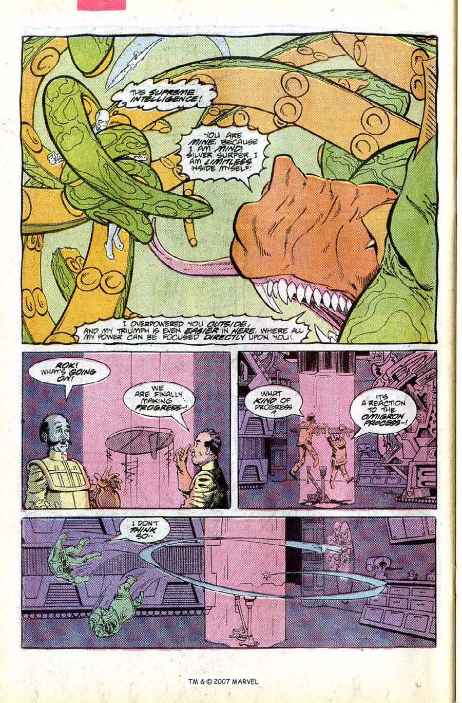 Read online Silver Surfer (1987) comic -  Issue #8 - 26