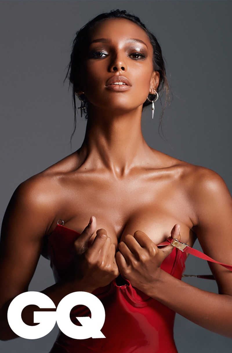 Jasmine Tookes goes sultry for GQ South Africa