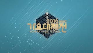 Download MBC Gayo Daejun 2016 Subtitle Indonesia