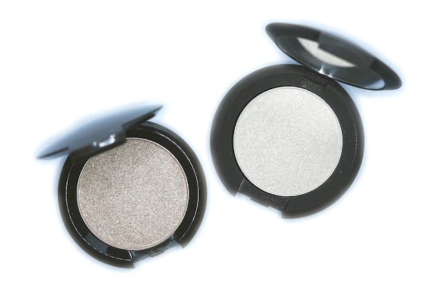 BECCA Shimmering Skin Perfector Pressed Highlighter in Opal and Vanilla Quartz