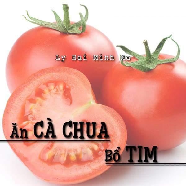 Ăn cà chua bổ Tim