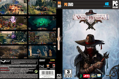 Jogo The Incredible Adventures of Van Helsing PC DVD Capa