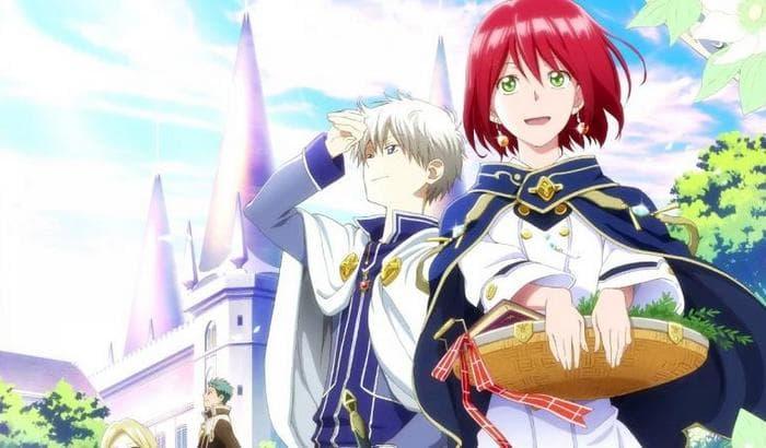جميع حلقات انمي Akagami no Shirayuki-hime S1 الموسم الأول مترجم (تحميل + مشاهدة مباشرة)