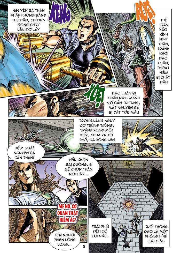 Đại Đường Uy Long chapter 50 trang 5