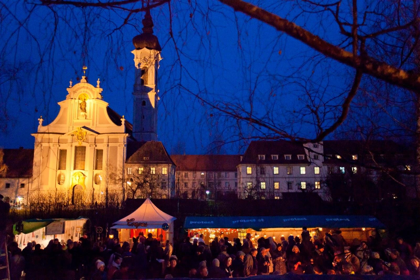 Kloster Andechs Weihnachtsmarkt.Texterl November 2017