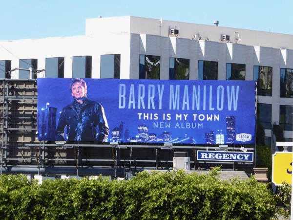 Barry Manilow This Is My Town album billboard