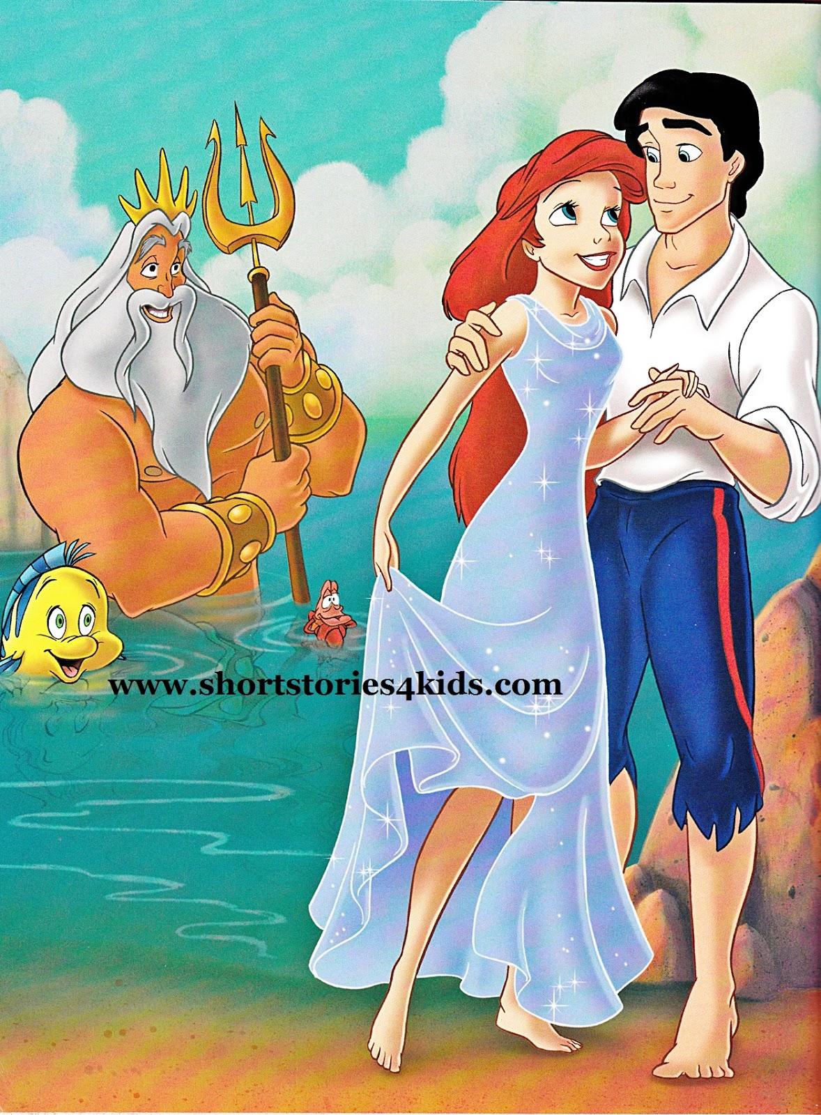the little mermaid english short stories for kids short stories