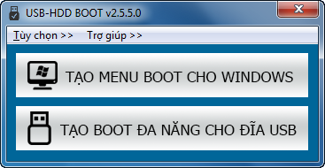 USB-HDD BOOT, Tạo menu boot cứu hộ đa năng, cài đặt windows từ ổ đĩa usb, legacy, uefi, usb boot, hdd boot, menu boot...