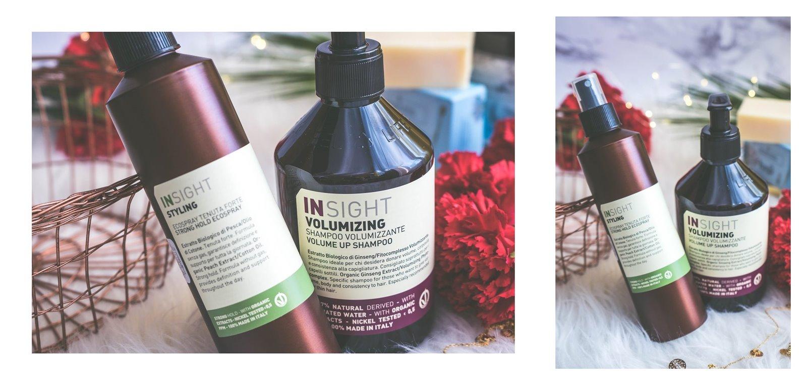 4A kosmetyki insgiht szampon zwiększający objętność włosów recenzja opinia jakość drogeria pigment czy warto kupić lakier do włosów bez gazu