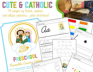 https://www.etsy.com/listing/459281028/catholic-preschool-printables-cursive