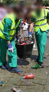 Los residuos de las Carreras Populares