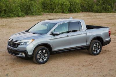Honda Ridgeline (2017) Front Side