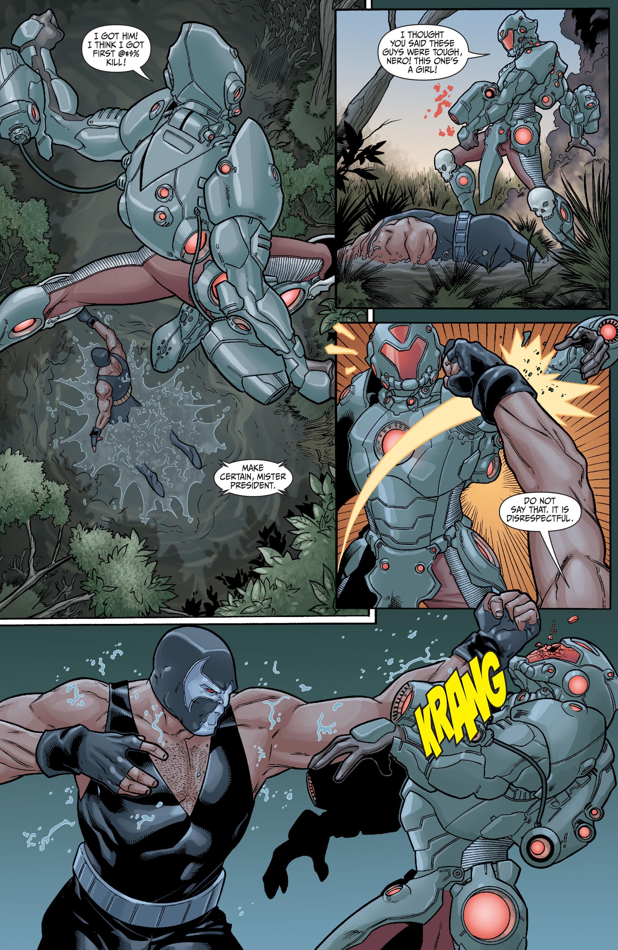 Read online Secret Six (2008) comic -  Issue #23 - 12