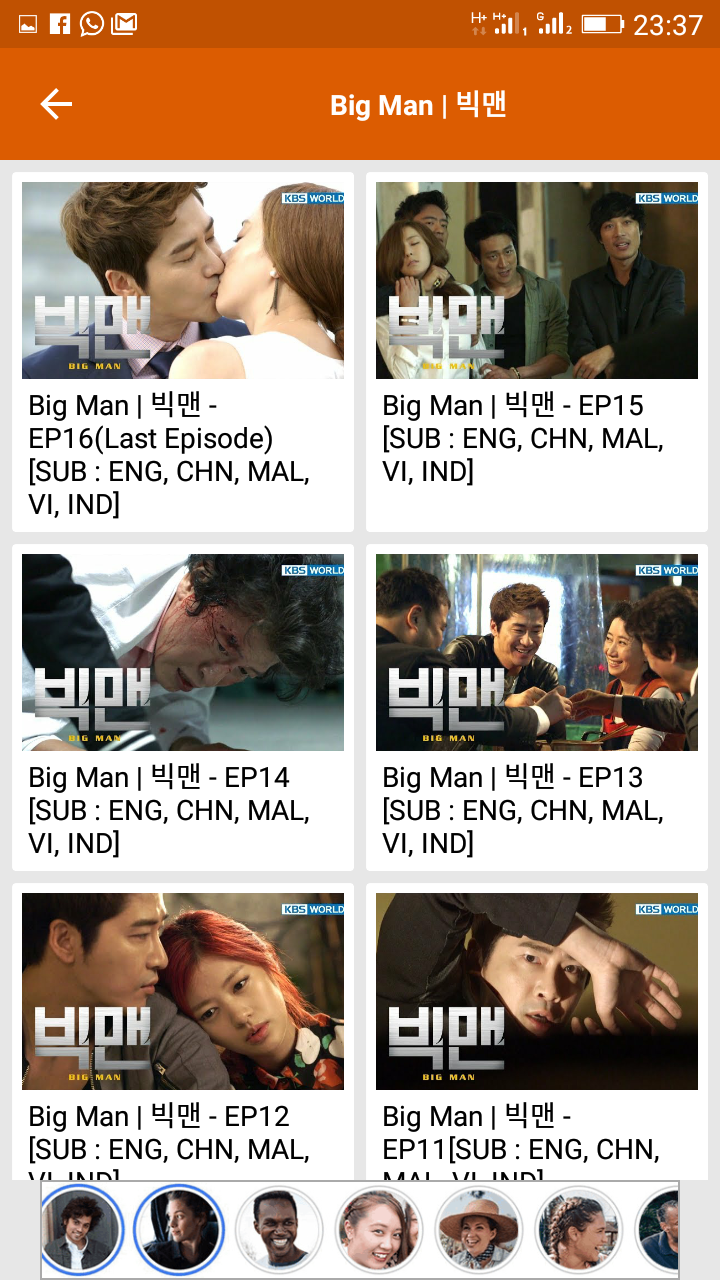 Korean drama episodes