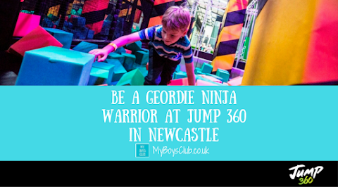 Be a Geordie Ninja Warrior at Jump 360 in Newcastle (REVIEW)
