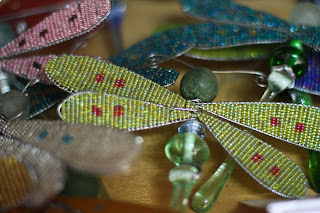 maasai kenya africa glass beaded dragonfly