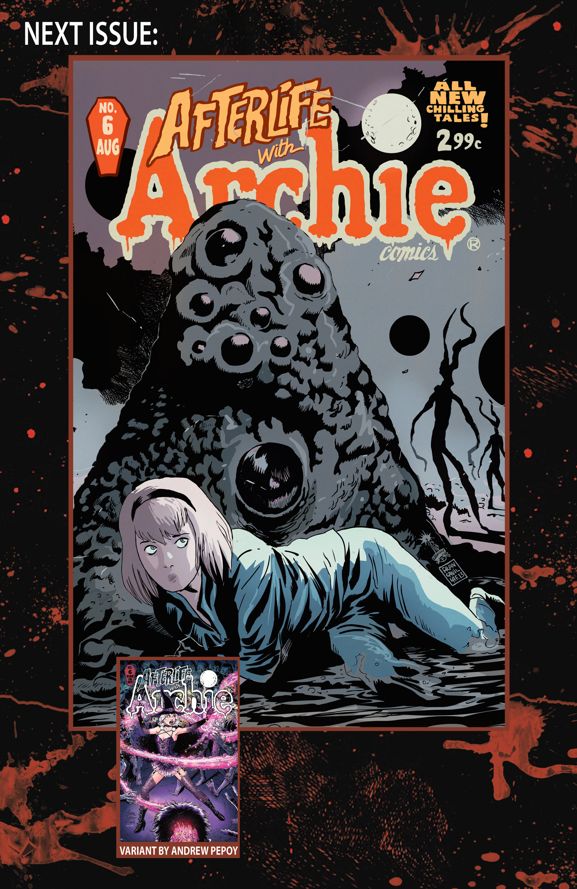 Read online Afterlife with Archie comic -  Issue #5 - 34