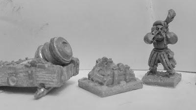 10mm German Mortar, Organ Gun & Volley Gun, Kickstarter from Warmonger Miniatures