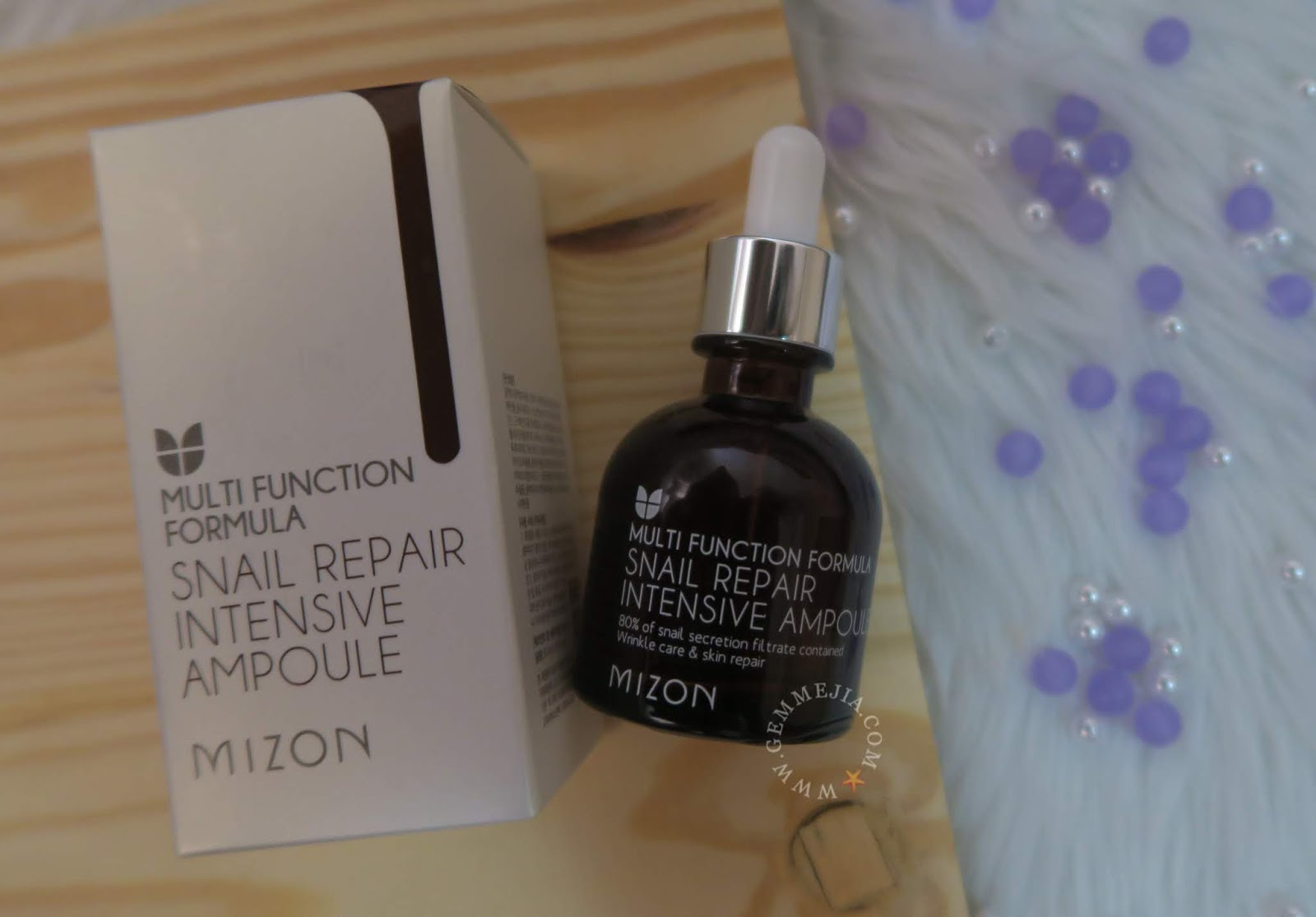 Mizon Snail Repair Intense Ampoule Gemmybear Intensive 30ml This Weeks Star Is The Has Been On Market For A Long Time But It Still Never Too Late Me To Try