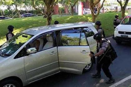 Senpi Anggota Brimob Polda Bali Dirampas