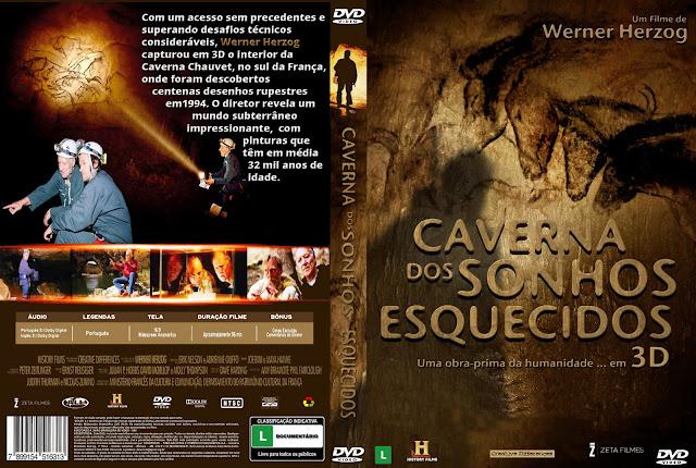 Capa DVD Caverna Dos Sonhos Esquecidos