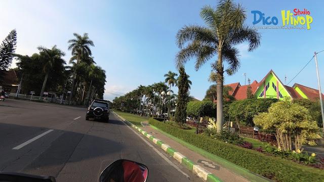 Potret Gambar Jalan Ijen Kota Malang Tahun 2017