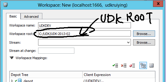 VR Center: Setting Perforce for UDK