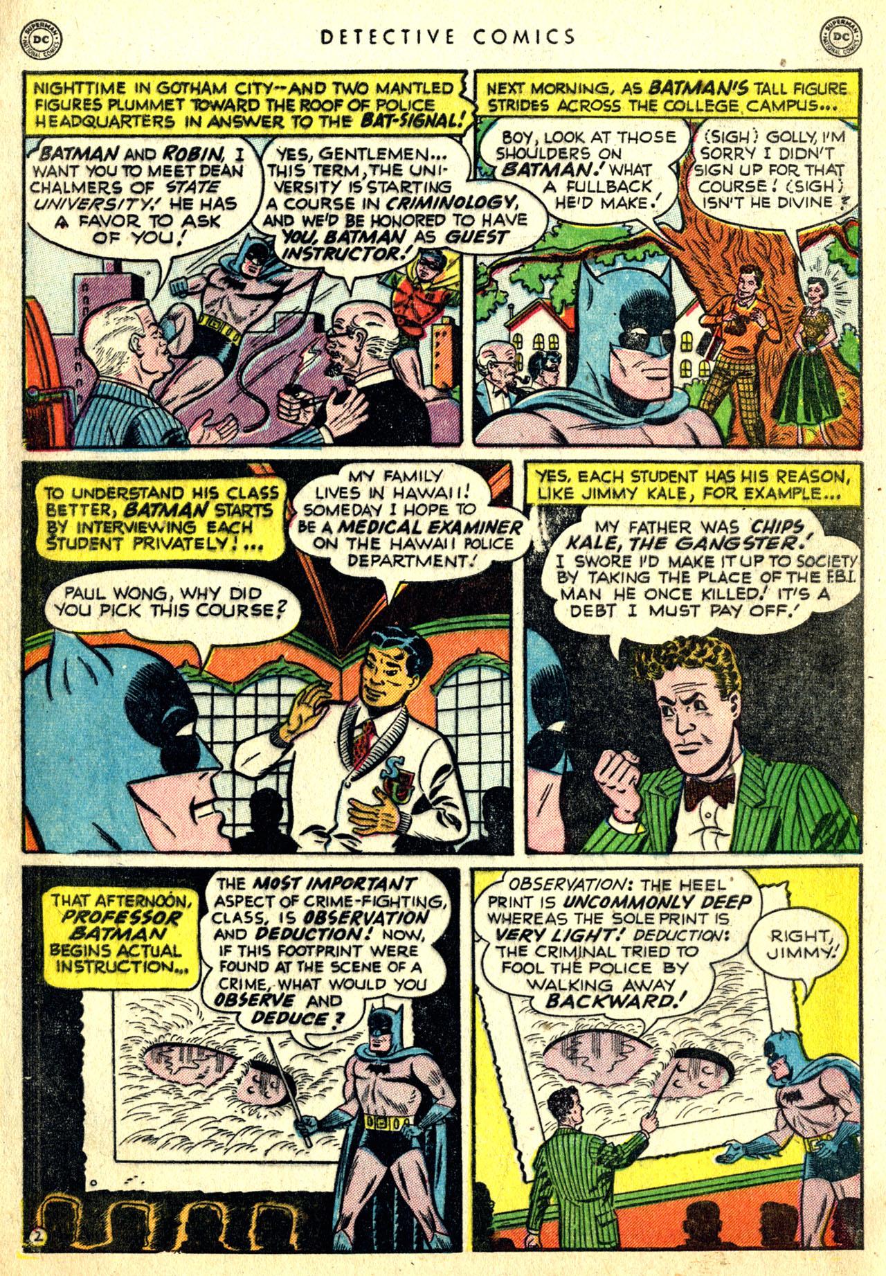 Detective Comics (1937) 168 Page 3