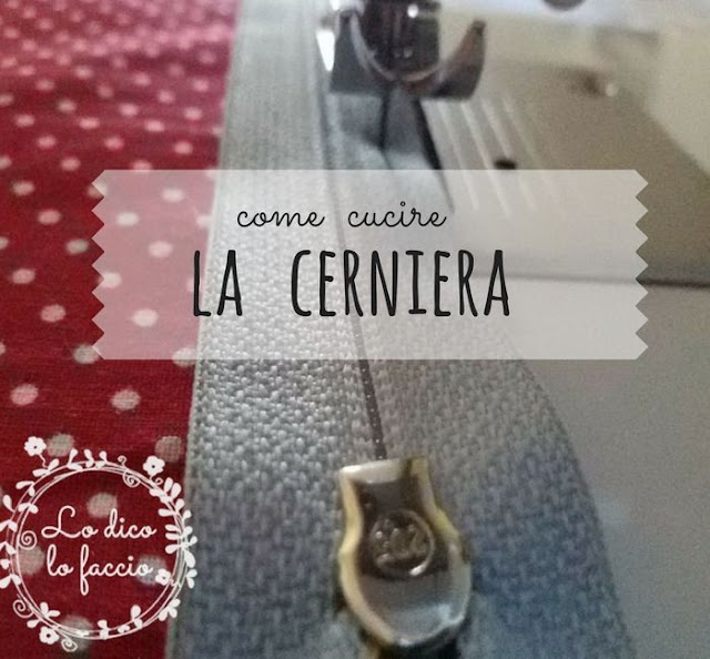 cerniera tutorial