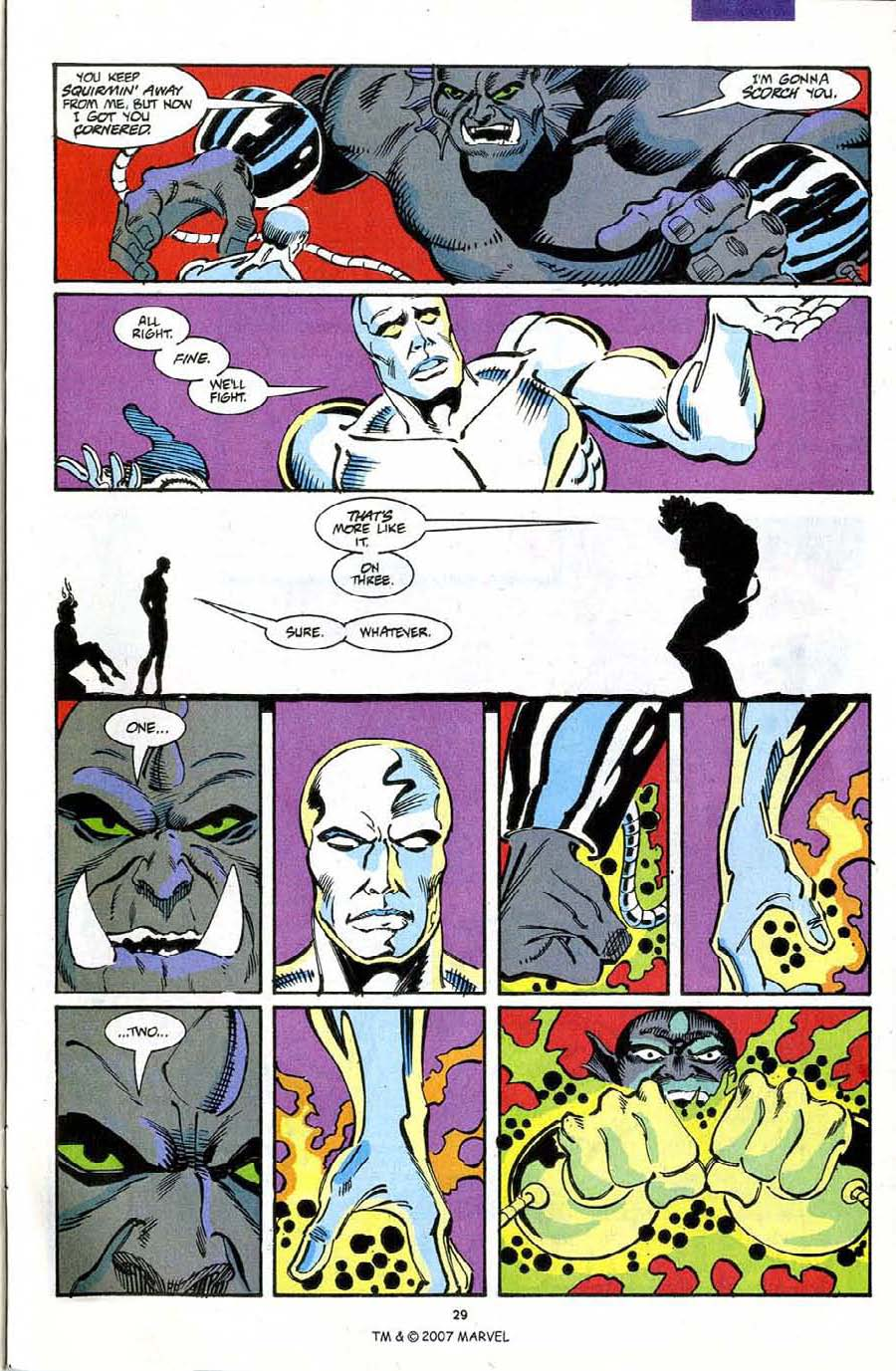Read online Silver Surfer (1987) comic -  Issue #72 - 31