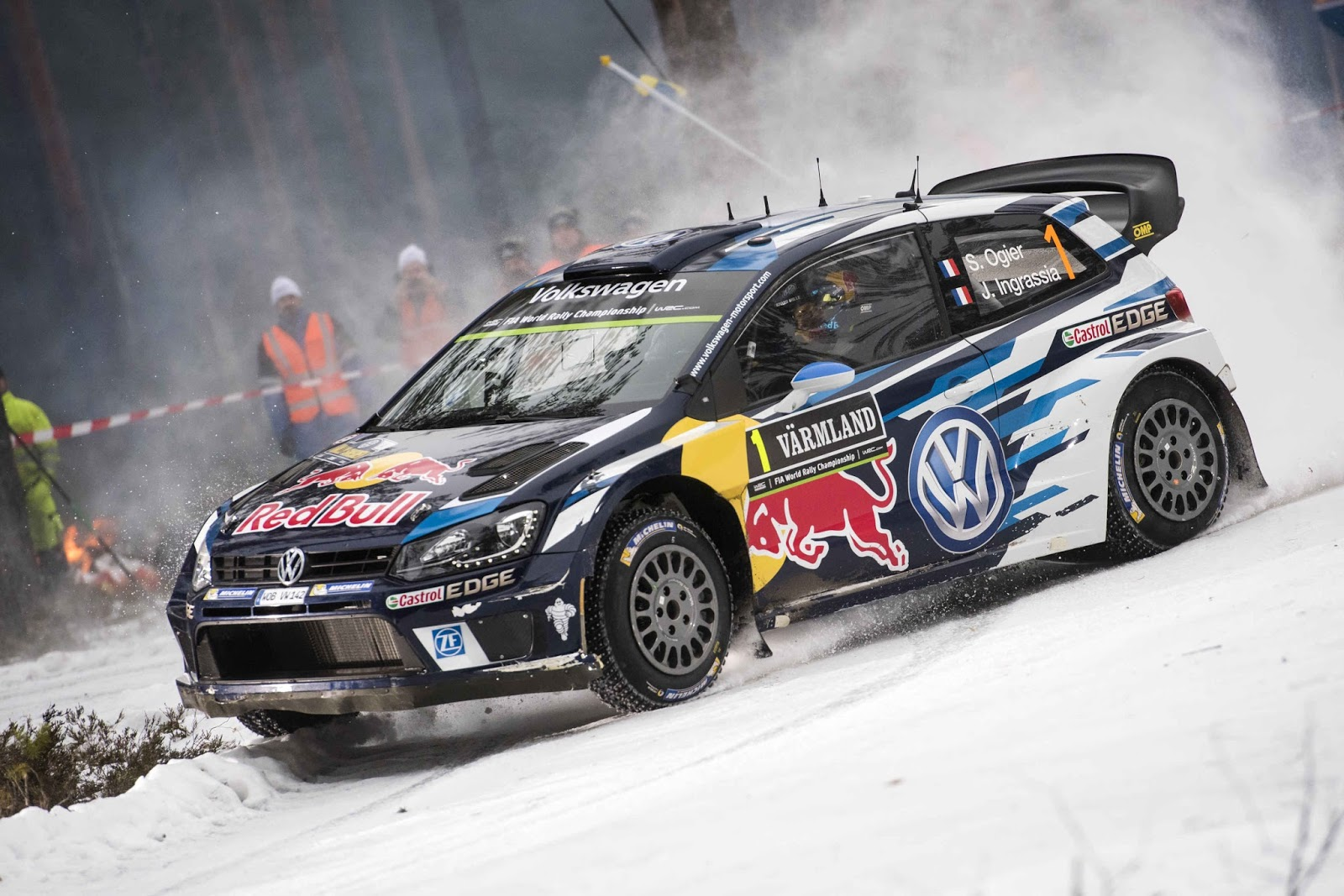 Marvs rallyworld day1 wrc rally swedia 2015 trouble is the