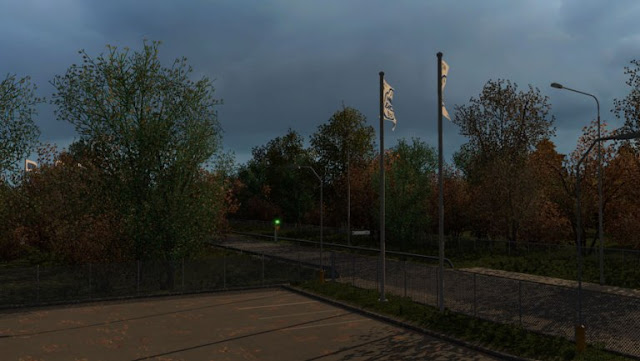 recommendedmodsets2, ets2 mods, euro truck simulator 2 mods, ets2 weather mod, ets2 early autumn, ets2 realistic weather, ets2 1.32, ets2 grimes weather mods, ets2 early autumn mod v5.5 screenshots2