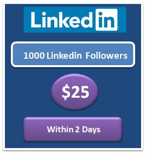 1000 buy Linkedin Shares cheap