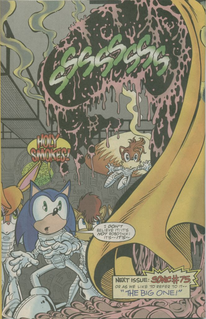 Read online Sonic The Hedgehog comic -  Issue #74 - 20