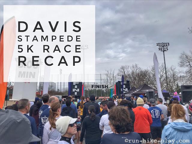 Davis Stampede 5K Race Recap