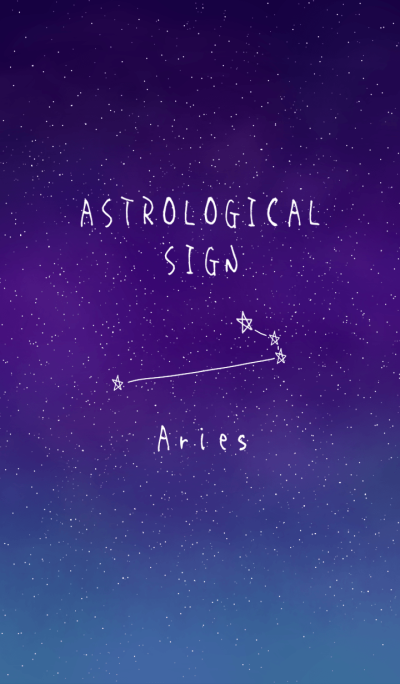 ASTROLOGICAL SIGN.(Aries)