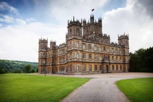 Highclere Castle, Hampshire, Inggris