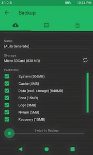TWRP 3.1.0-0 Lenovo A369i