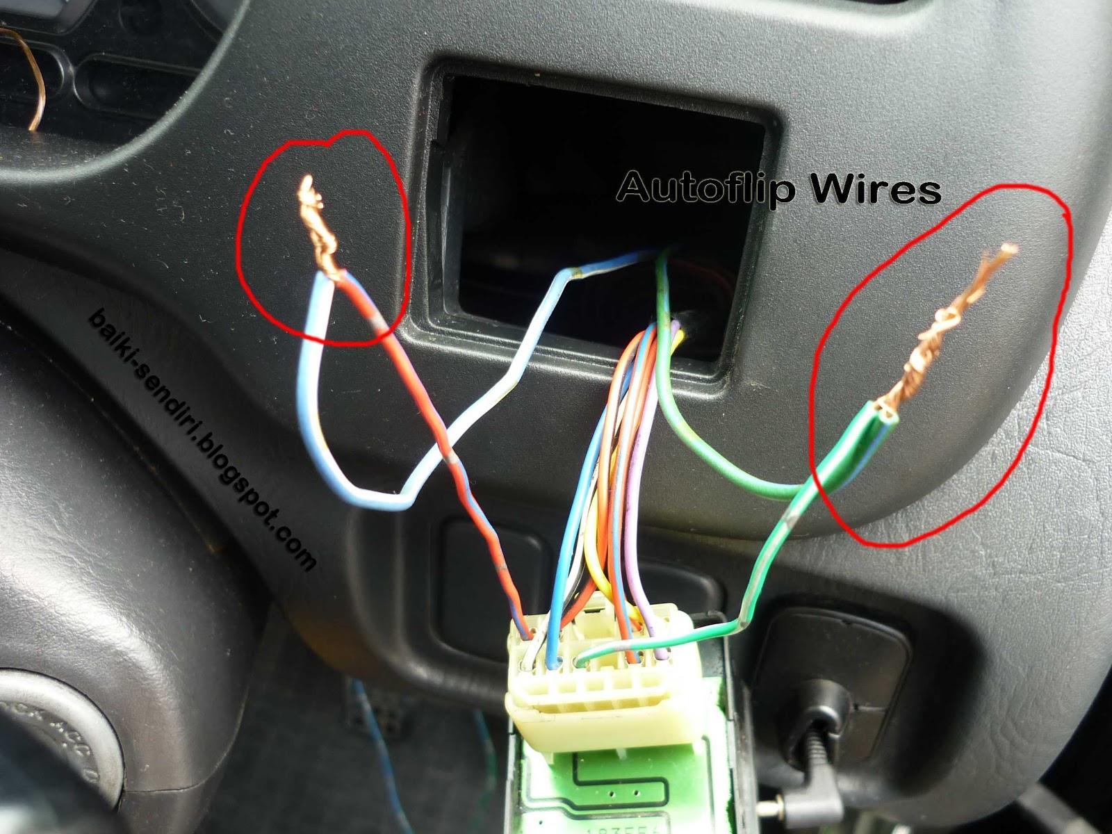 L7 Wiring Diagram 98 Ford F150 Radio Diy Fix On Your Own Daihatsu Perodua Kelisa Autoflip Installation Guide