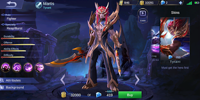 Daftar Hero Wajib Banned di Game Mobile Legends